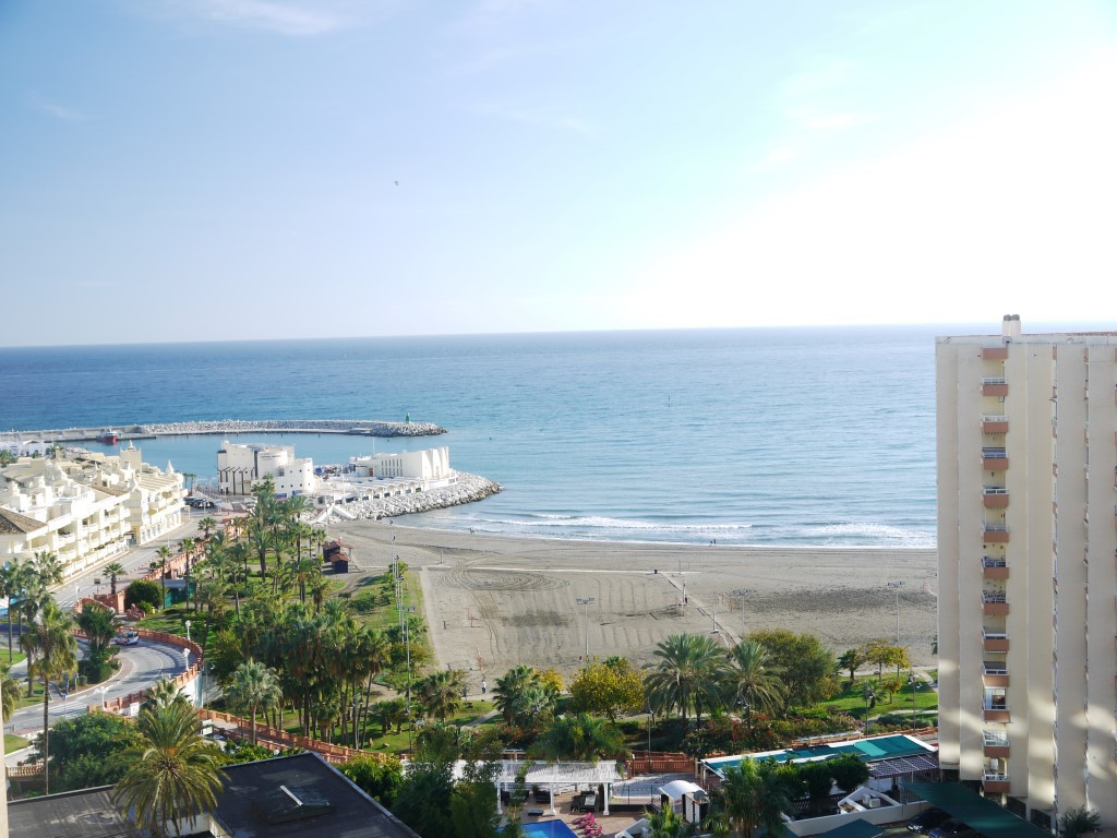 A fantastic beachside apartment with amazing views of the sea and beach aswell as the award winning ,Spain