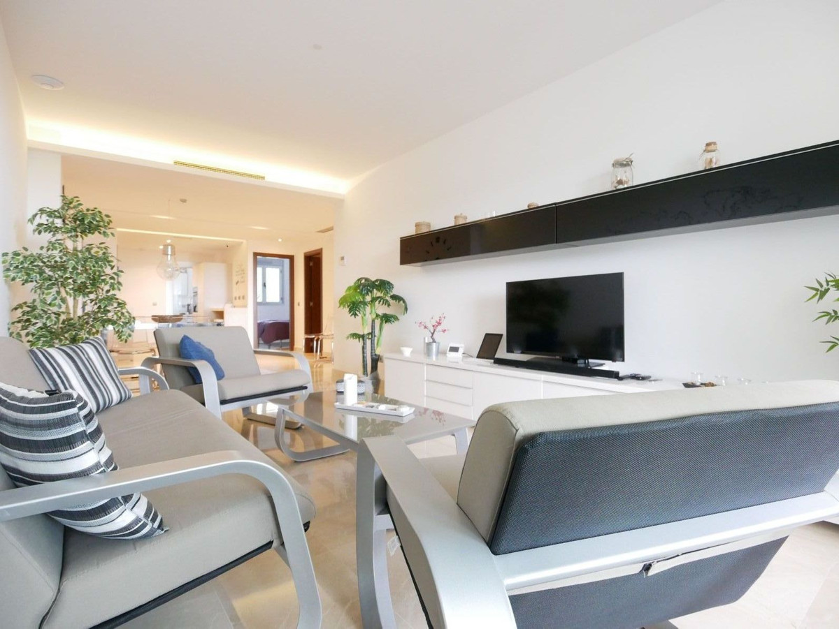 This is a great modern minimalistic apartment for sale in la Mairena above Elviria in East Marbella.,Spain