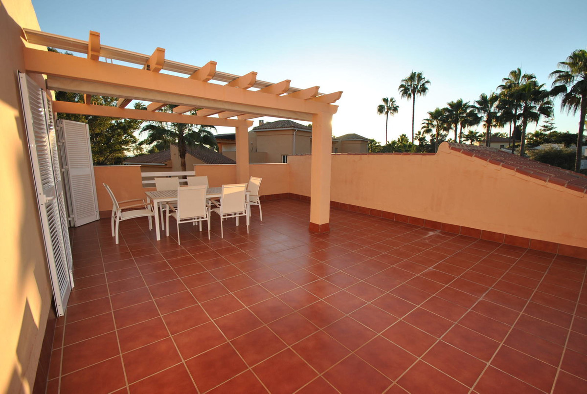 A beautiful two bedroom penthouse apartment with a huge open terrace which enjoys all day sun.  This, Spain