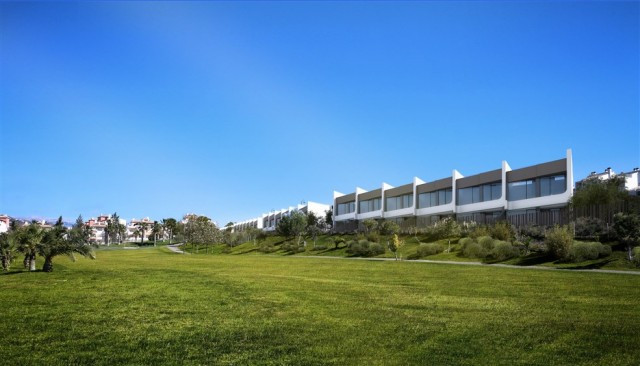 Green 9 Cool Homes, the new property development of townhouses on the 9th hole Baviera Golf was desi, Spain