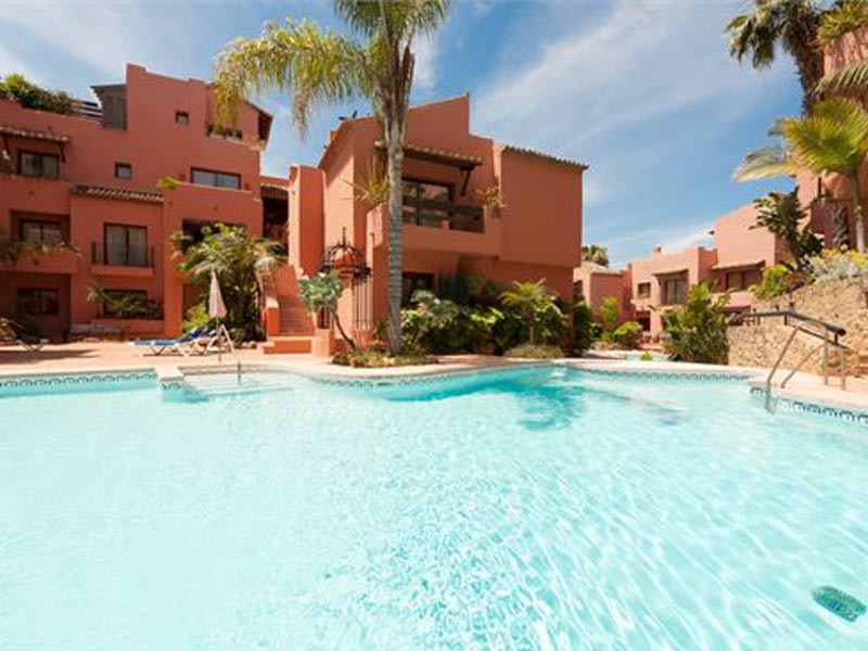 JARDINES DON CARLOS LUXURY COMPLEX, ELVIRIA BEACH  3 BEDS 2 BATHS  GATED COMPLEX WITH 3 POOLS, SAUNA, Spain
