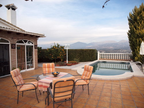 Spectacular villa with breathtaking views to the Lake - Zafarraya and the sea,  partly furnished, fi, Spain