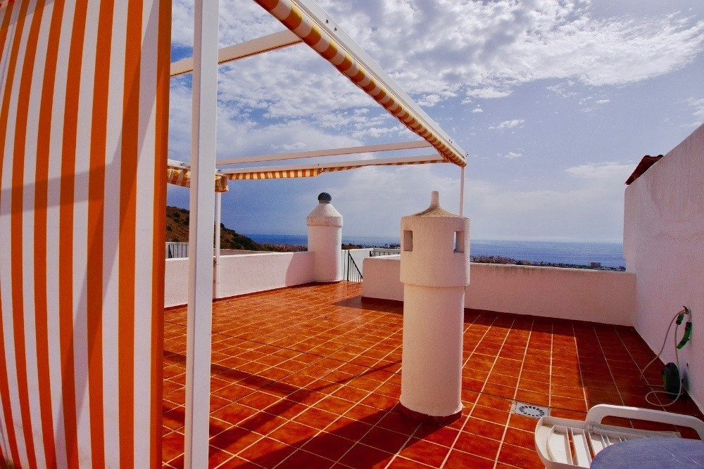 This is a great penthouse for sale with lots of outdoor space perfect for enjoying the climate that ,Spain