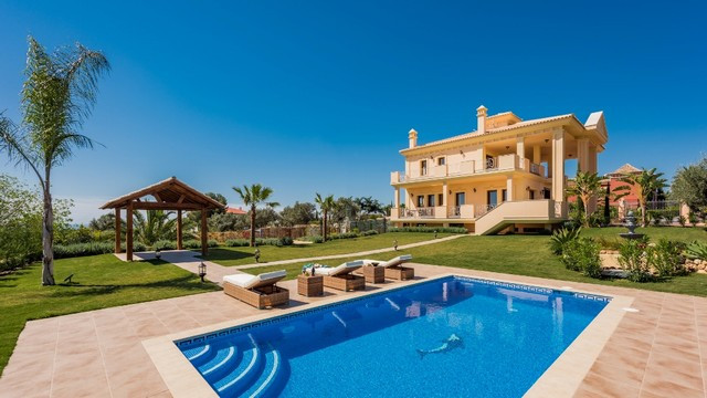 This one-of-a-kind villa in Marbella using the highest quality materials is set in one of the most p,Spain