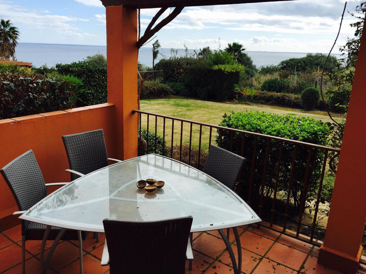 Two bedroom ground floor apartment in Sea Golf, La Alcaidesa. The property comprises a living room w,Spain