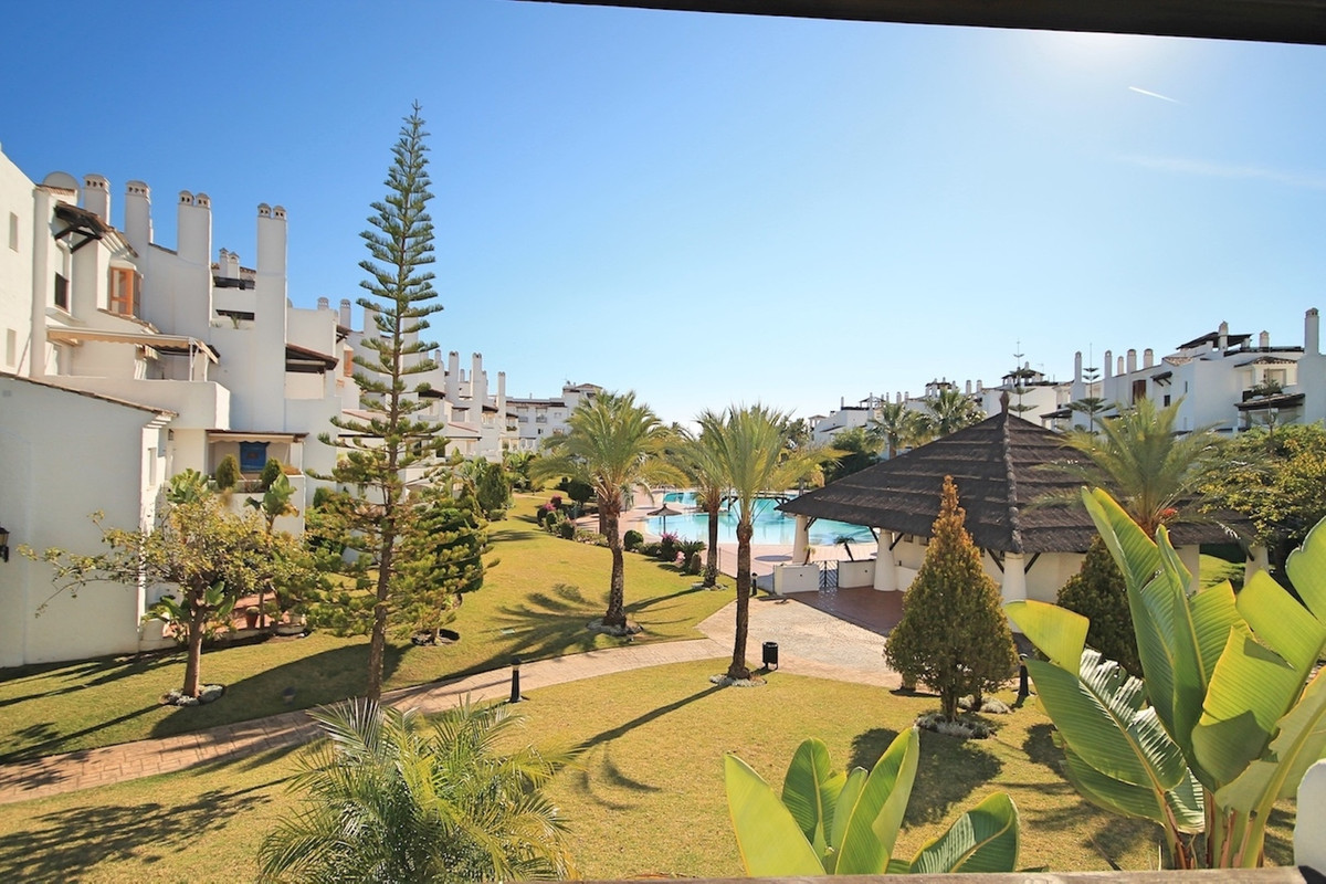 Two bedroom, south facing, renovated, first floor apartment in the popular, frontline beach complex , Spain