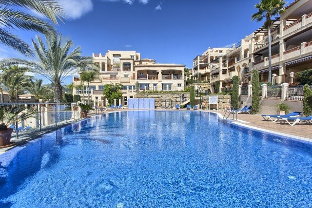 Very large 3 bedroom , 3 baths apartment in a gated community on the Golf of Atalaya only minutes to, Spain