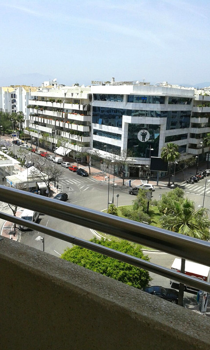 Corner apartment in the heart of Puerto Banus. The property has 2 bedrooms and 2 bathrooms. One bath,Spain