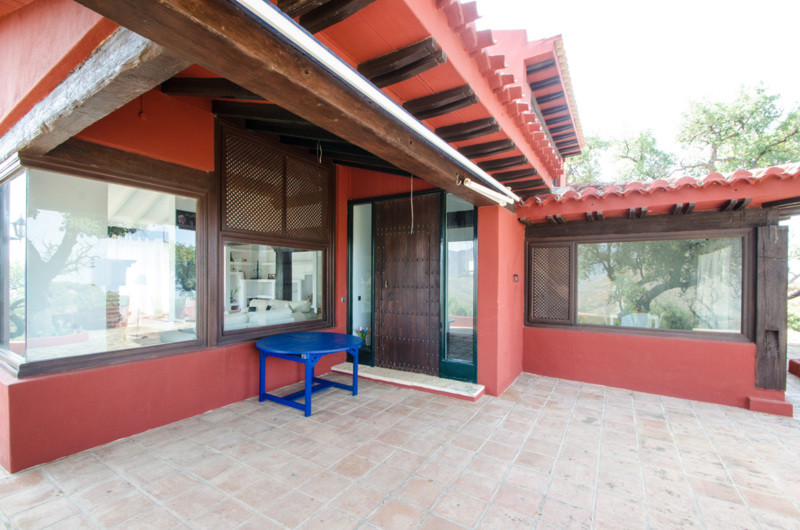 Andalucian style cozy villa situated and a natural cork forest. A 2 level property with great charac,Spain