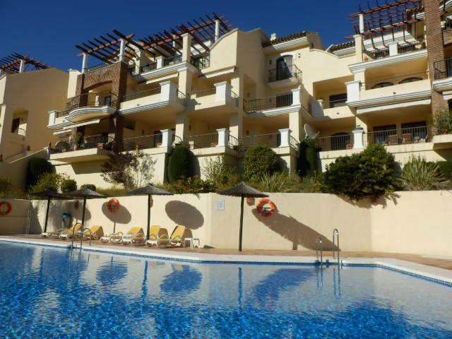 This quality apartment is located in the prime golf resort of Los Arqueros with 24h security and on-,Spain