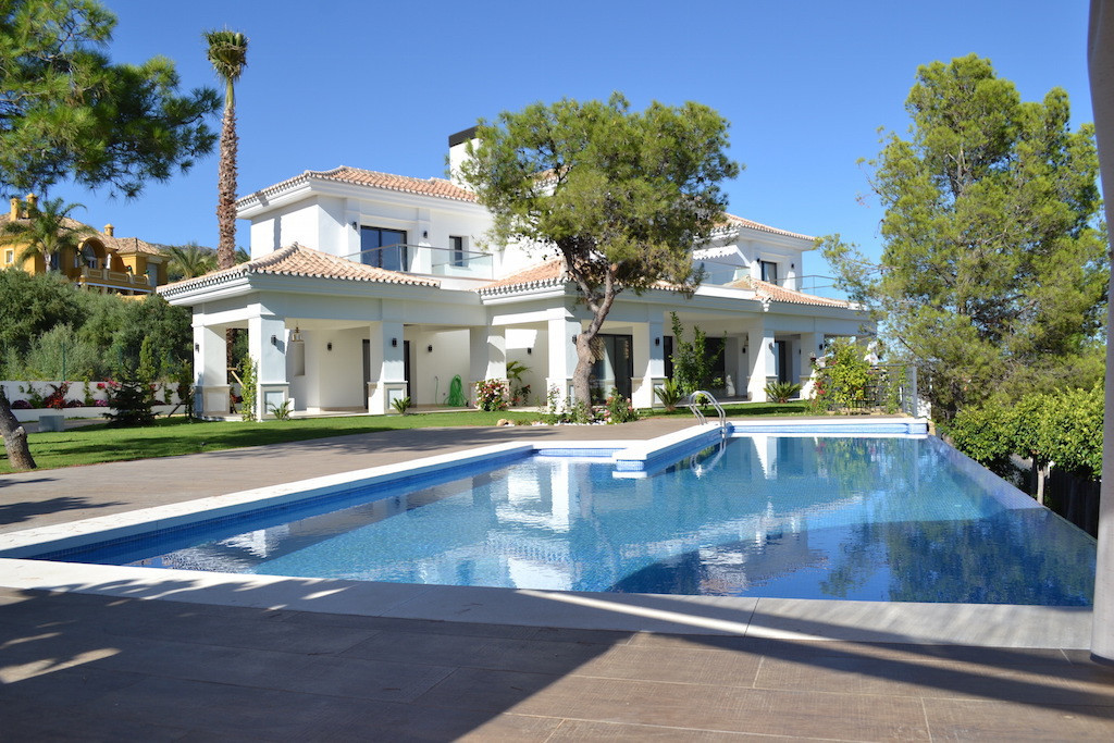 Spectacular  villa  located in Sierra Blanca, Marbella  just a few minutes driving from the old town,Spain