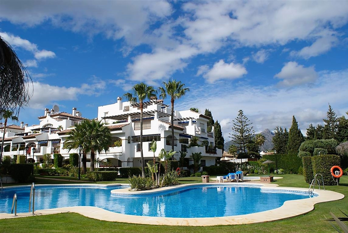 This beach front complex is situated on the front at San Pedro beach just next to Puerto Banus, it i, Spain