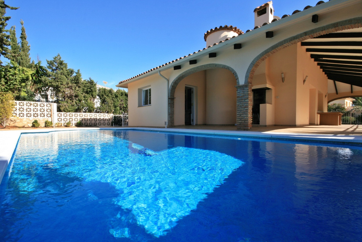 Spectacular villa with the beach at the end of the road! This beautiful home has a spacious south fa, Spain