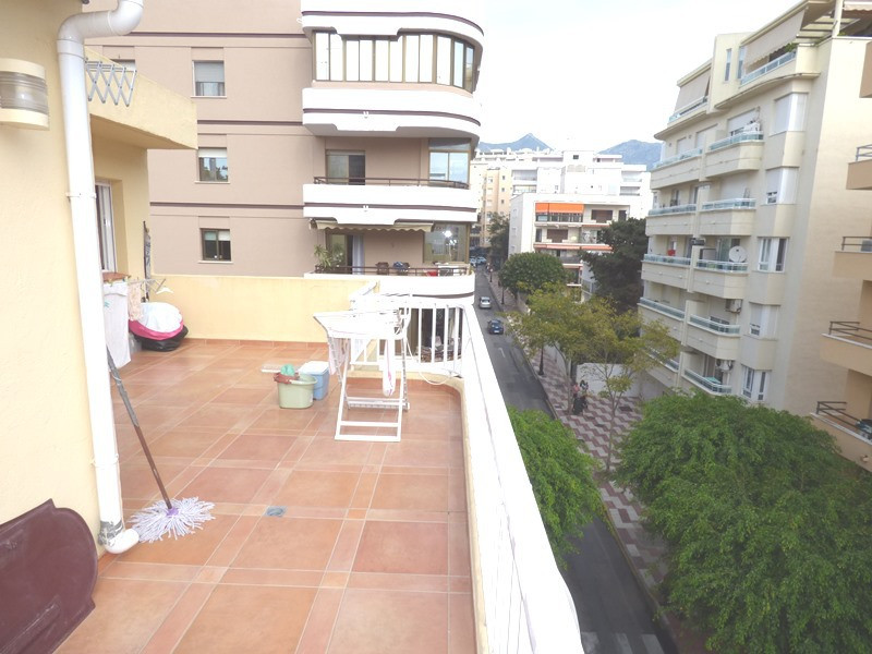 Duplex penthouse in the center of Marbella on 2 floors both with terraces. In the entrance floor the,Spain