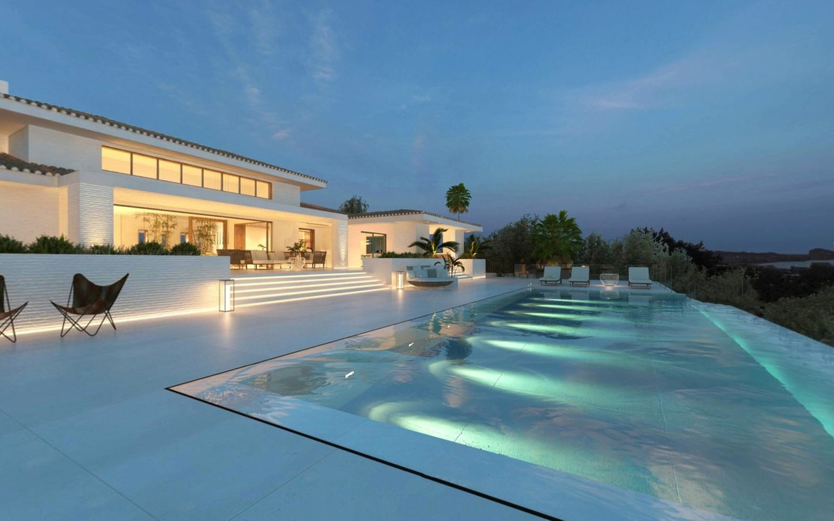 Off plan detached Villa in a prime location with panoramic sea views. located on the outskirts of th,Spain