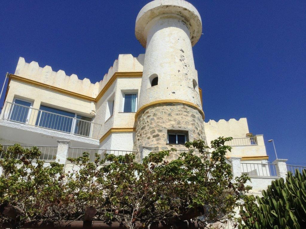 Villa from the 50th in first line beach in Benalmadena. The villa has an incredible situation just a, Spain