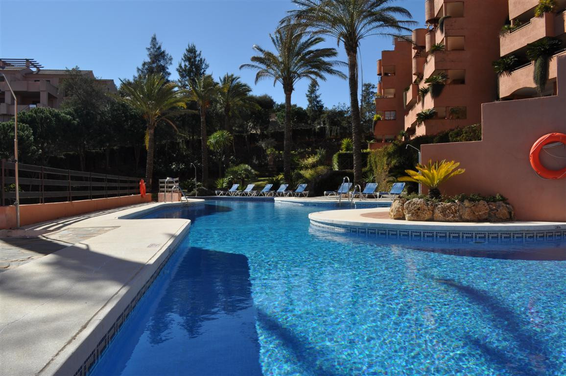 The apartment located in El Vicario, La Mairena urbanisation, in the east of Marbella with panoramic,Spain