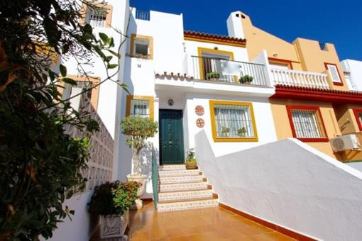 Town House for sale in Centro, Fuengirola Townhouse very central near Plaza de Toros, 166 m2. Of sur, Spain