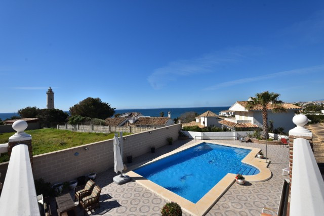 This beautiful and completely detached villa is located in the beautiful area of El Faro with an ama, Spain