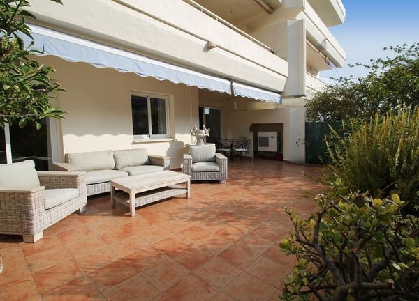 Lovely two bedroom elevated ground floor apartment, situated close to the vibrant centre of Marbella,Spain