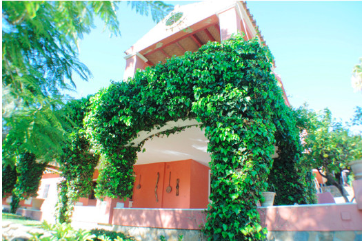 Unique 7 bedroom south facing Villa with separate guest house situated in Nueva Andalucias Golf Vall,Spain