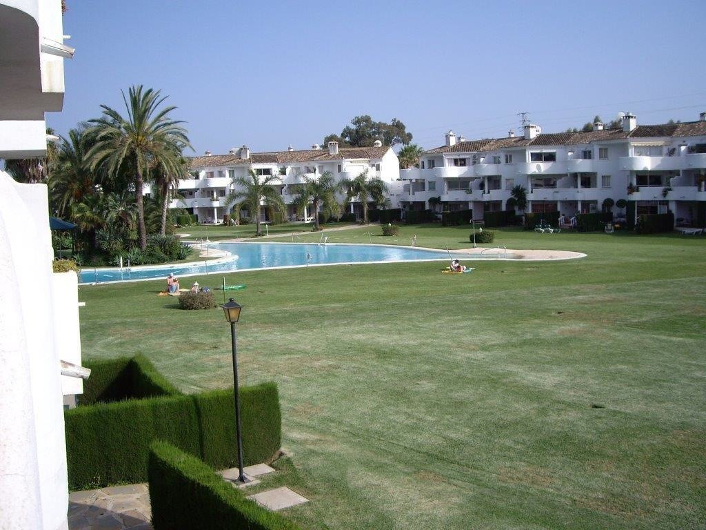 First floor apartment with views to gardens, pools and golf first line.  The apartment is located in, Spain