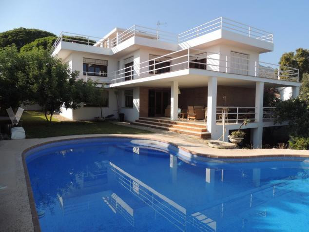 Detached villa in ??Marbella town, in the centric area El Higueral - La Merced. Built on a 3 floors , Spain
