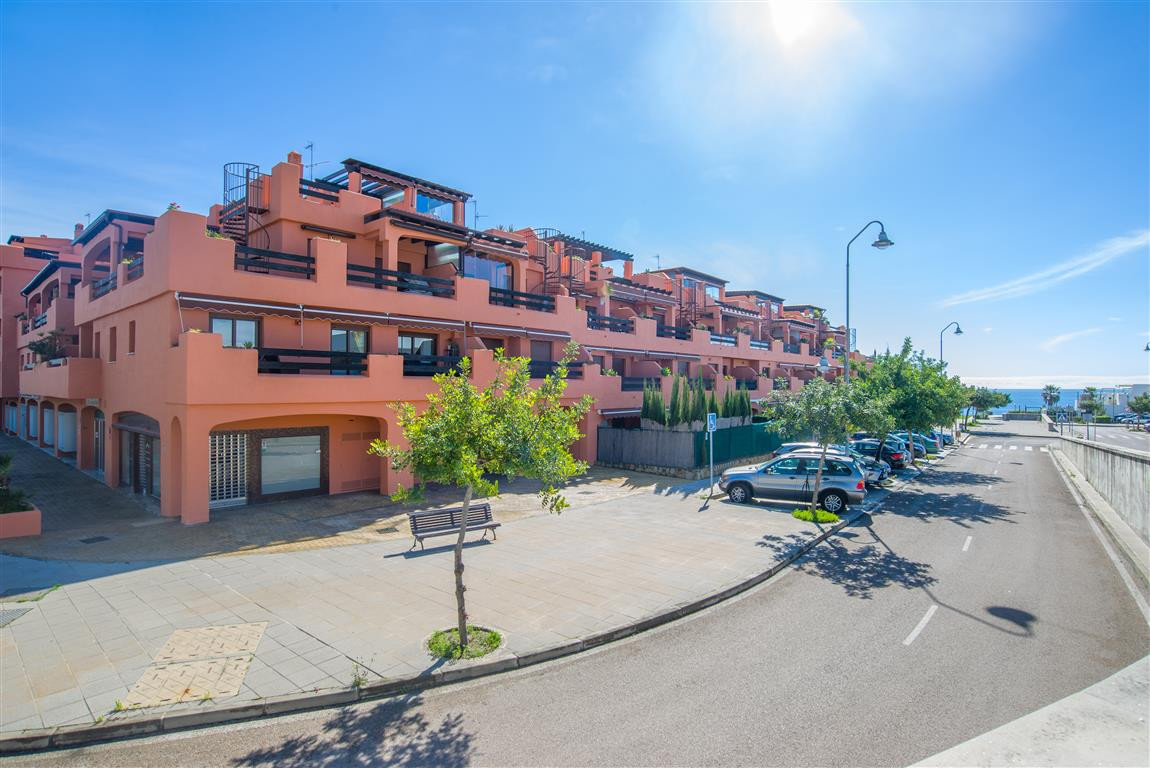Playa del Angel - steps away from the beach.  The commercial unit occupies a corner position on the , Spain