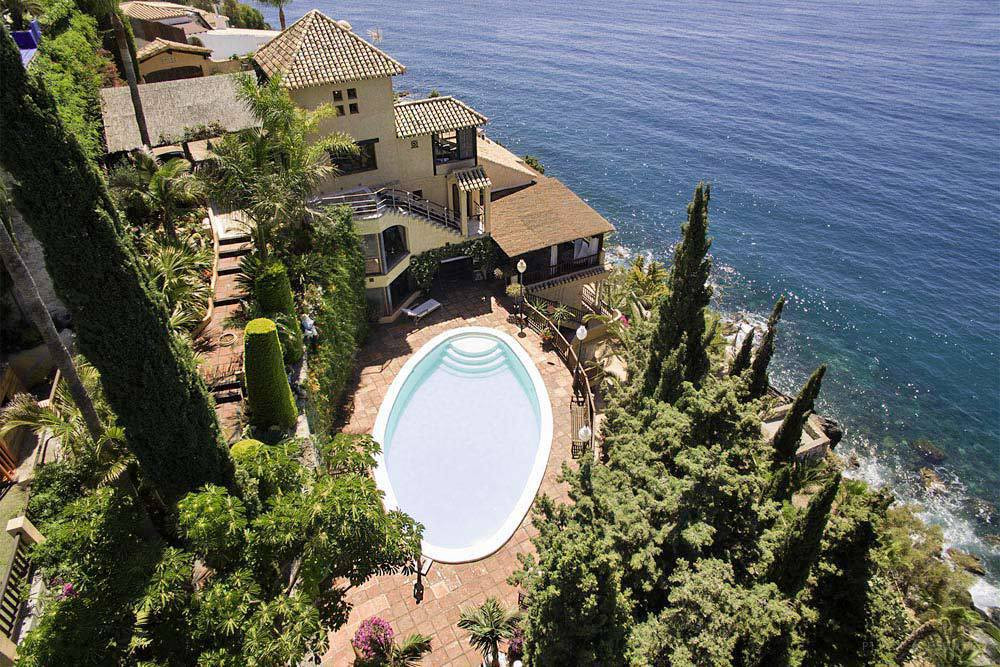 We're at one of the jewels of the Mediterranean, on Costa Tropical to the East of Costa del Sol ,Spain