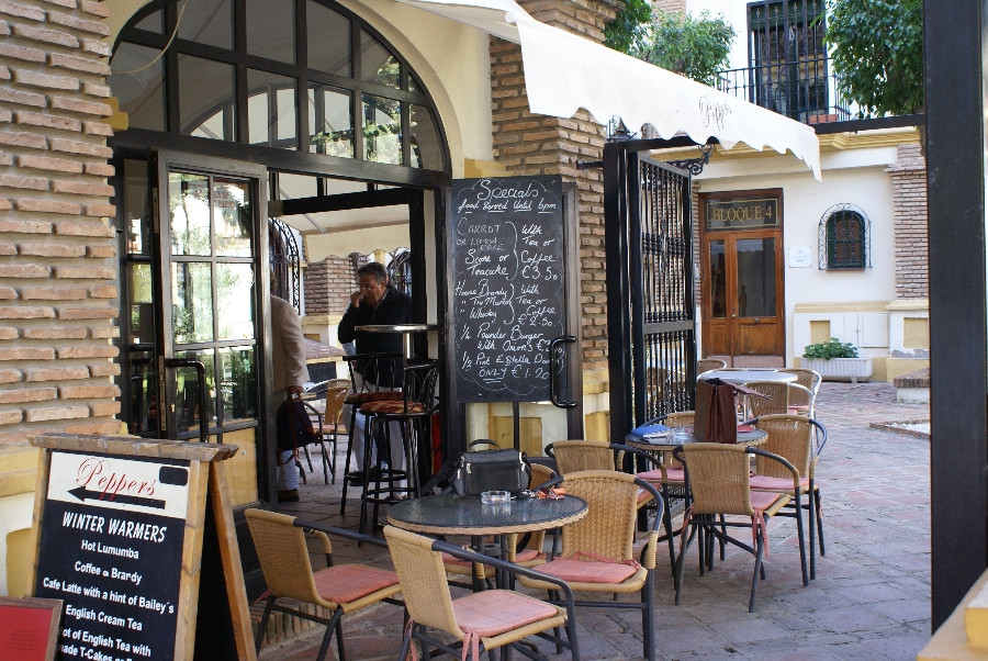 Bijou cafe situated in the heart of Fuengirola, in the grounds of Pueblo Lucia, a most prestigious a,Spain