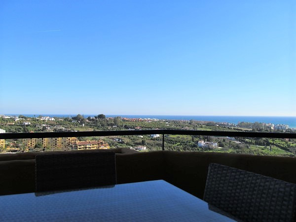 This 2 bedroom apartment has the most beautiful mountain and sea views. The master bedroom has an en, Spain