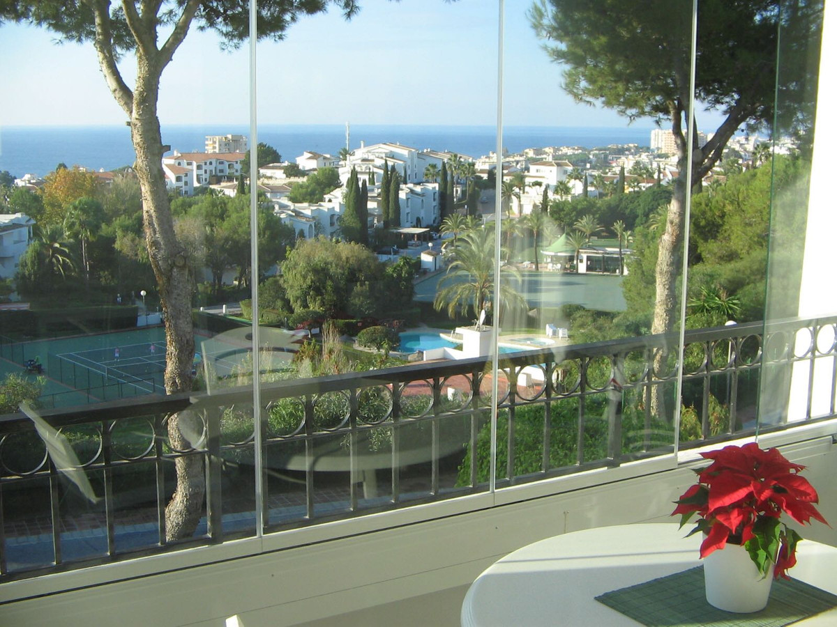 At 20 Km from Malaga airport. Beautiful top floor luxury studio apartment with one bedroom and beaut, Spain