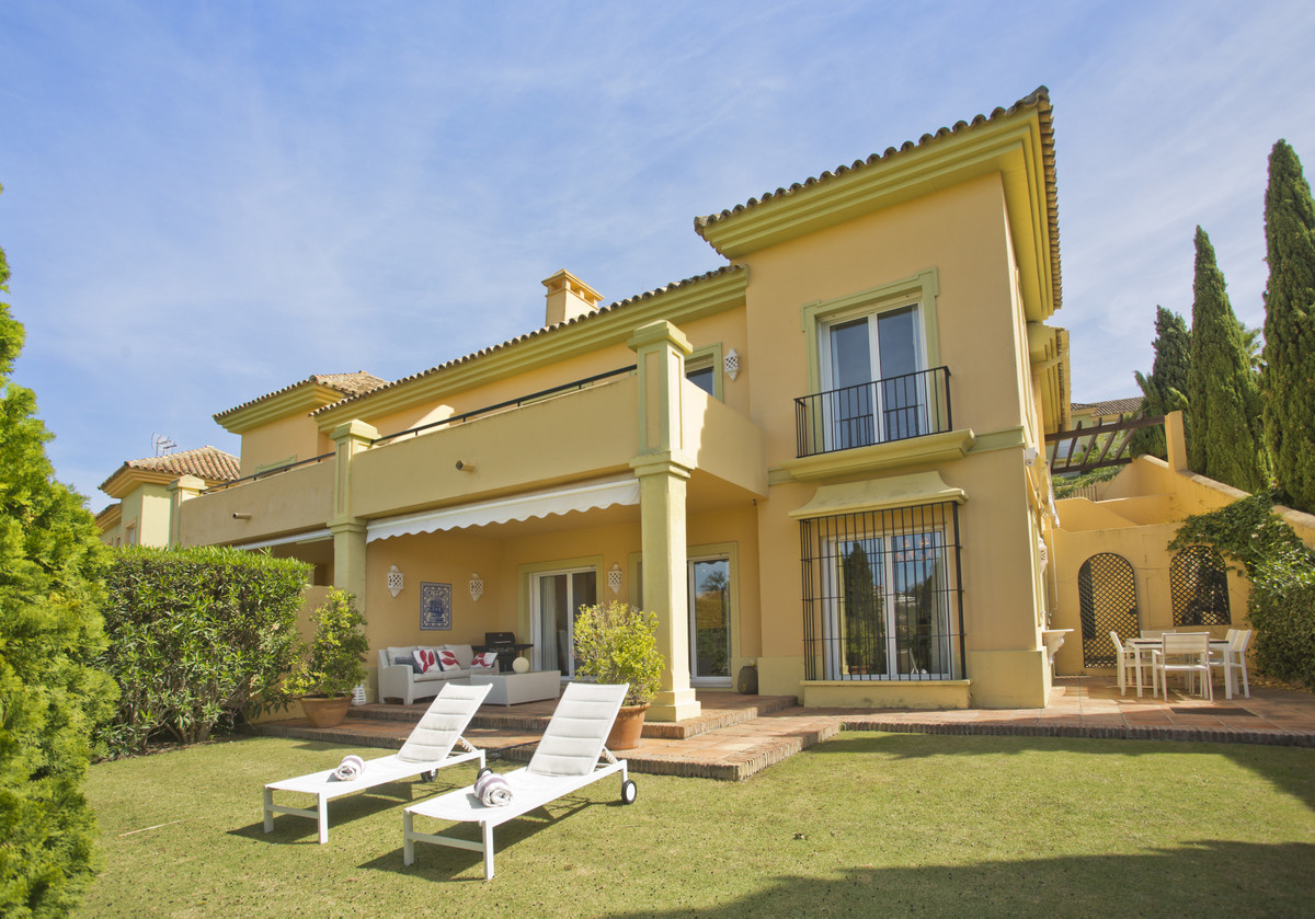A stunning 4 bedroom townhouse in the sought after gated development of Las Terrazas de Sotogrande. , Spain