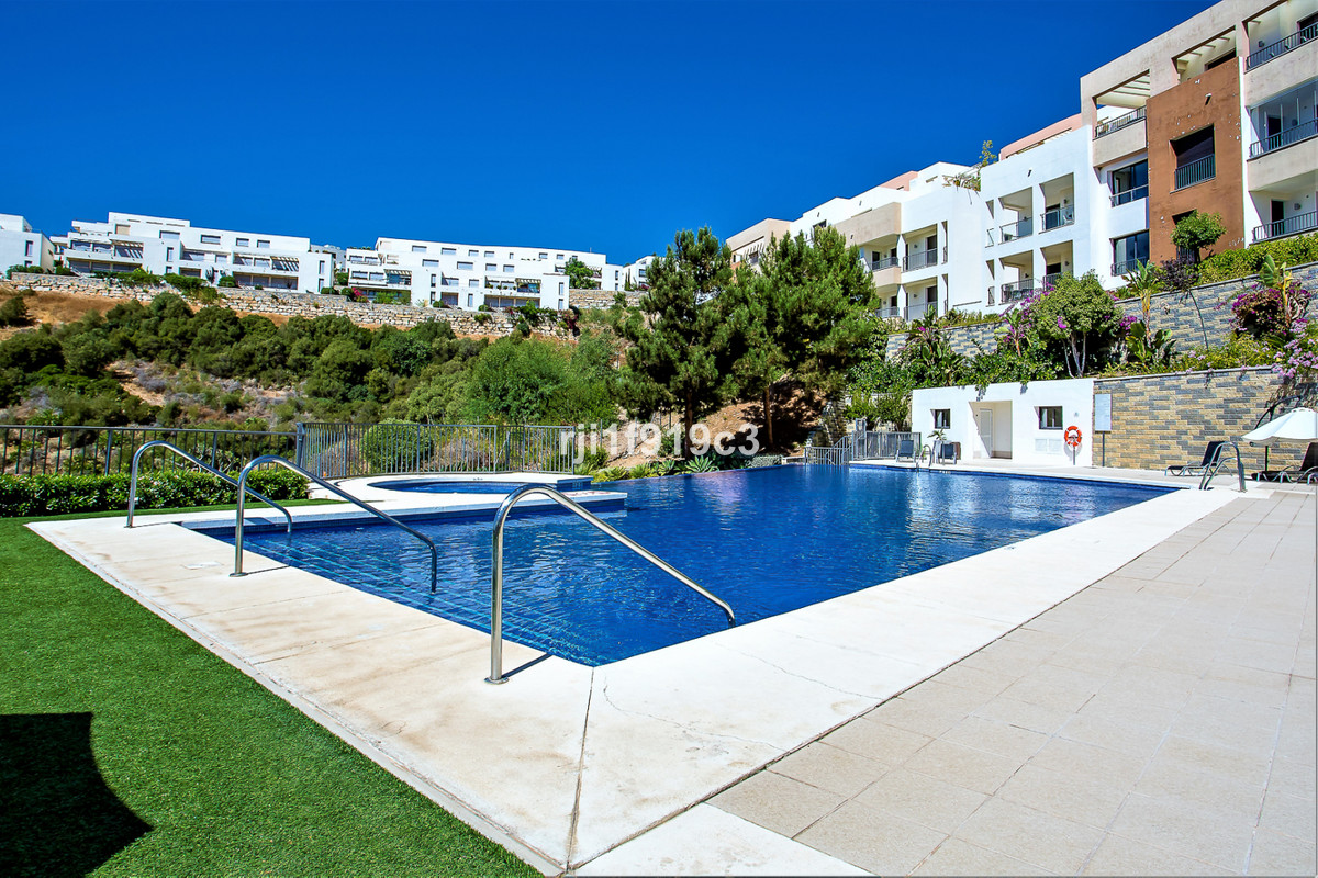 At the top of the hills and surrounded by nature, peace and tranquility is situated this 2 bedroom a,Spain