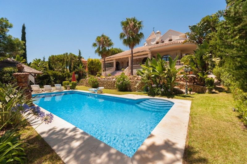 Villa with seaviews in Hacienda las Chapas, andalusian architecture  set in the most prestigious eli, Spain