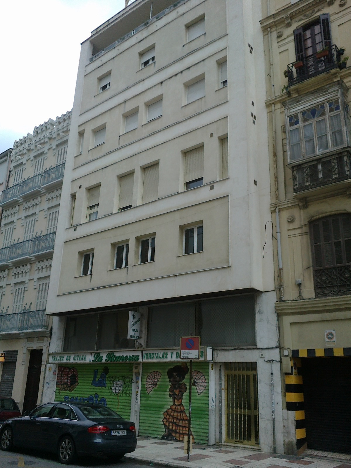 """Located in the SoHo area of central Malaga office/loft with for sale. Very close to the """"Paseo ,Spain"""