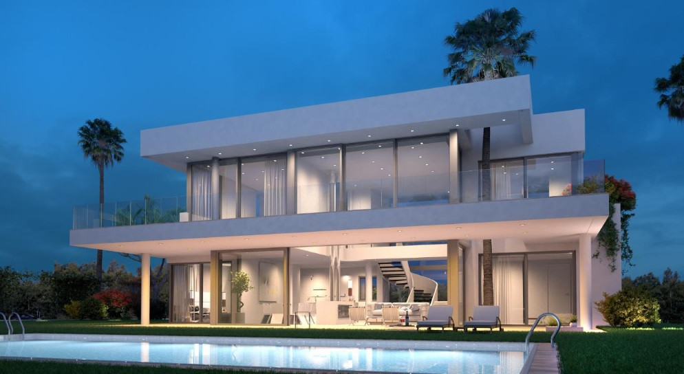 With panoramic views, this large plot offers the opportunity to build up to 6 contemporary villas in,Spain