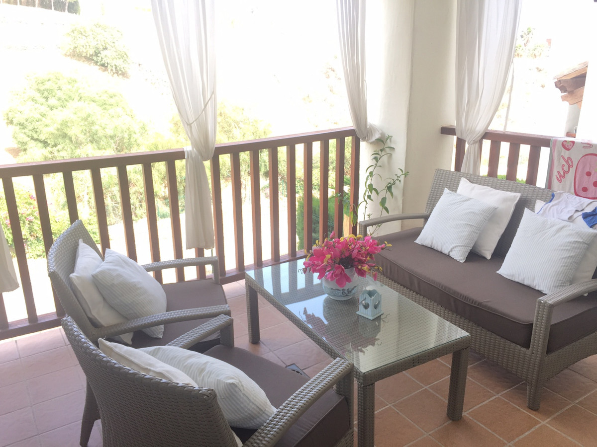 Luxury apartment situated on a beautiful Andalusian style resort with two large communal pools, trop,Spain