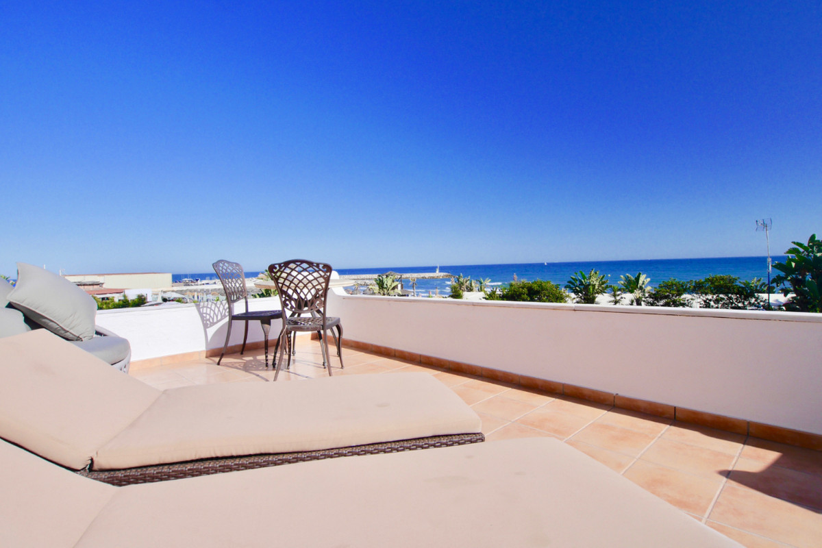 This is a very unique property right on the one of the best beaches in Marbella. This property is re,Spain