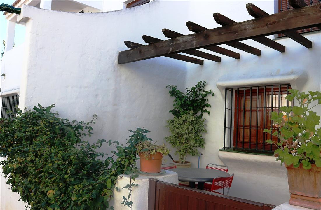 In a front line beach development, two bedroom apartment, a bathroom, living room with fireplace, ki,Spain