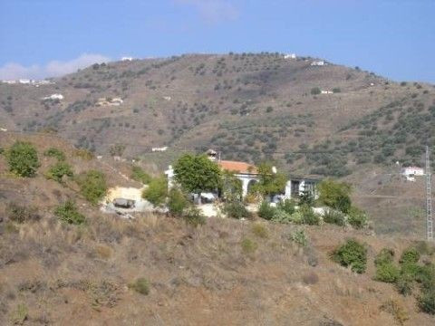 Charming finca with wonderful sea and mountain views, fully furnished, summer kitchen outside, sever,Spain