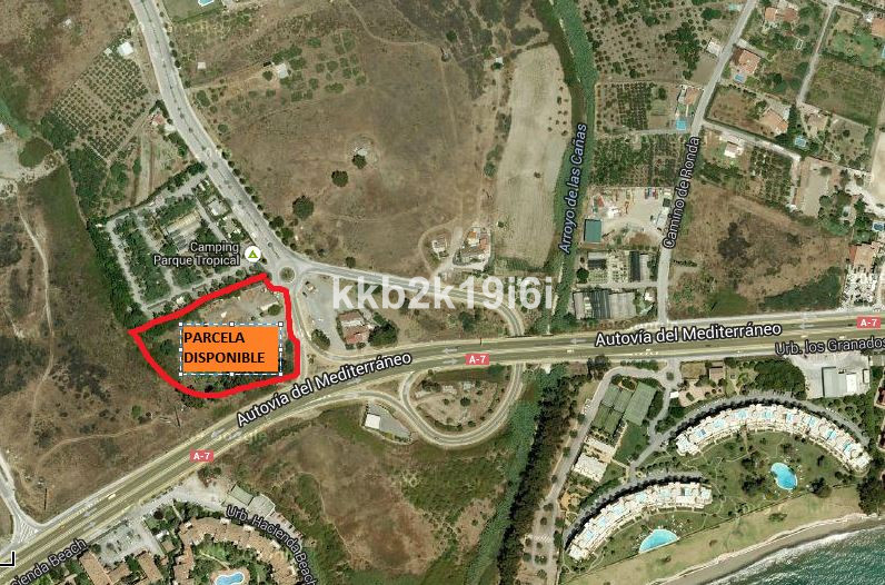 Plot with project to build a GAS STATION located on the A-7 Crta. Estepona highway, alongside the Ca,Spain