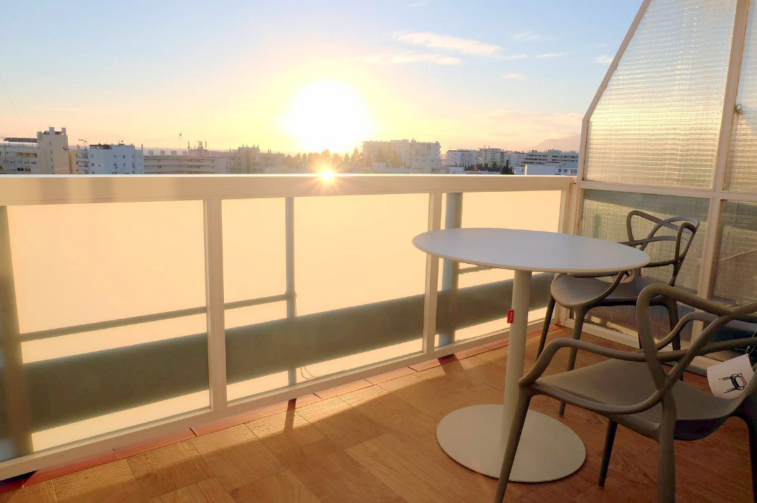 Beach side fully refurbished apartment to the highest standards with open city and sea views, only 2,Spain