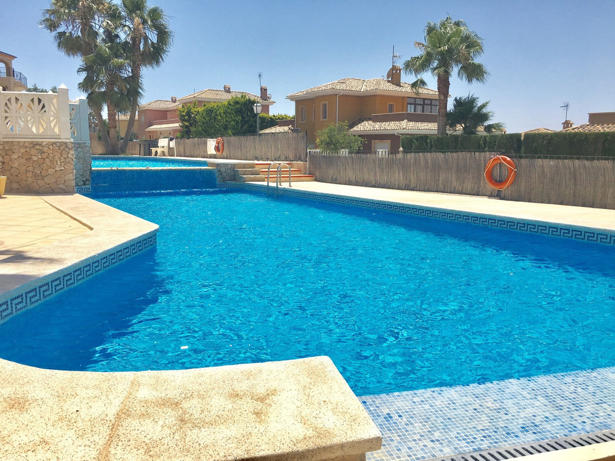 Well presented 2 bedroom townhouse near the village of Busot with wonderful, far reaching views of t,Spain
