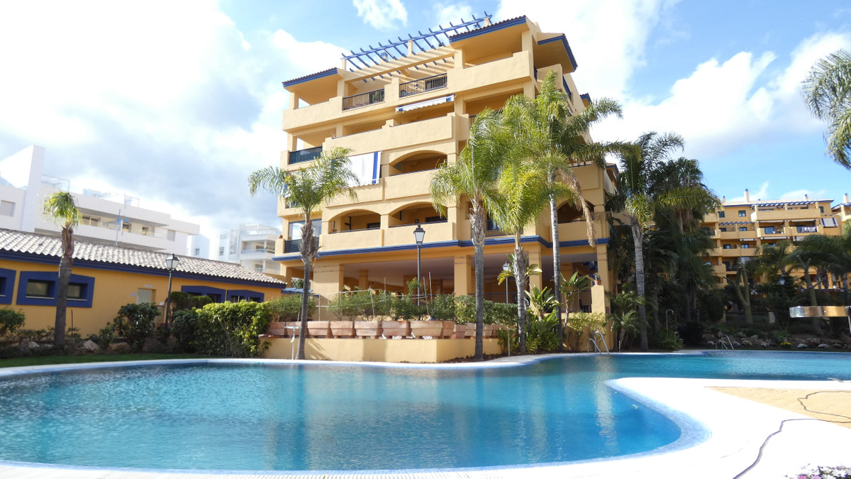 Beautiful beachside apartment for sale located in one of the most sought after areas in San Pedro de, Spain