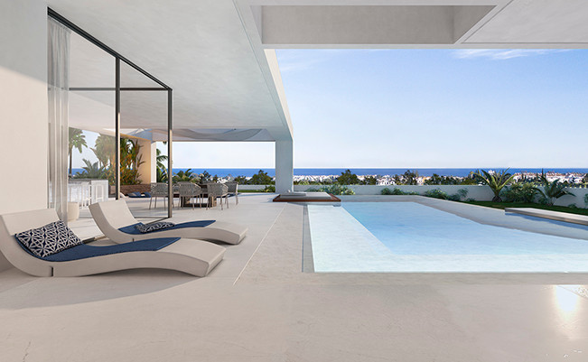 Off plan luxury villa in Cancelada.  Independent villa with unique and contemporary design. The exte, Spain