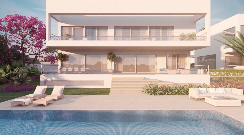 Beautiful villa located in the prestigious area of Marbella, Probably this magnificent home is one o,Spain
