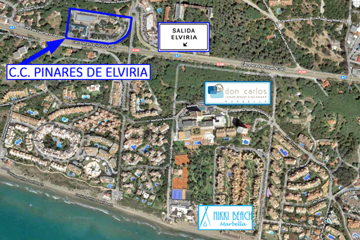 Commercial Premises, Elviria, Marbella, Costa del Sol. Built 42 m2 Terrace 22 m2  Restaurant - Cafe , Spain