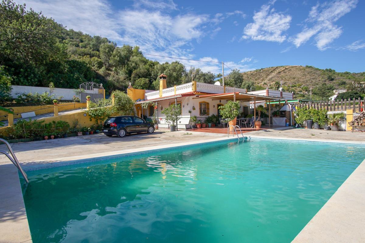This romantic charming Andalusian style finca is located in Altos de los Monteros, a fantastic locat,Spain