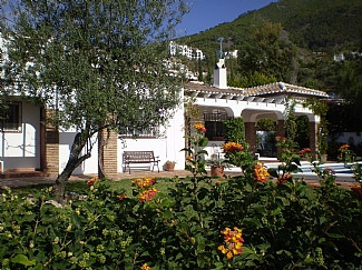 Charming finca with marvellous panoramic views, furnished, chimney, air acondicc., internet, SAT-TV,, Spain
